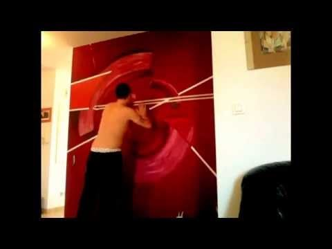 17 best ideas about peinture acrylique abstraite on pinterest peinture acry - Fresque murale moderne ...