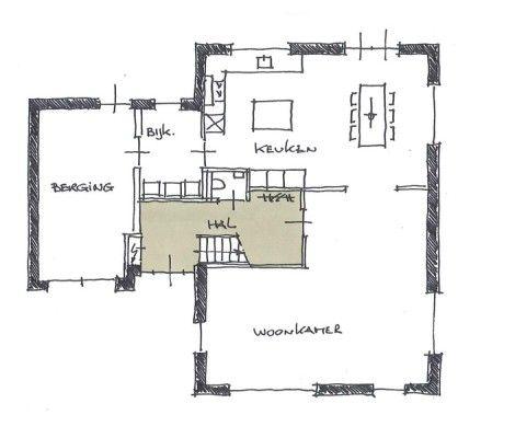 25 beste idee n over thuis plattegronden op pinterest for Tips inrichten nieuwbouwwoning