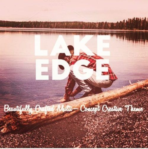 designeour:  Lake Edge #Creative #Vintage #Theme by Frost Themes...