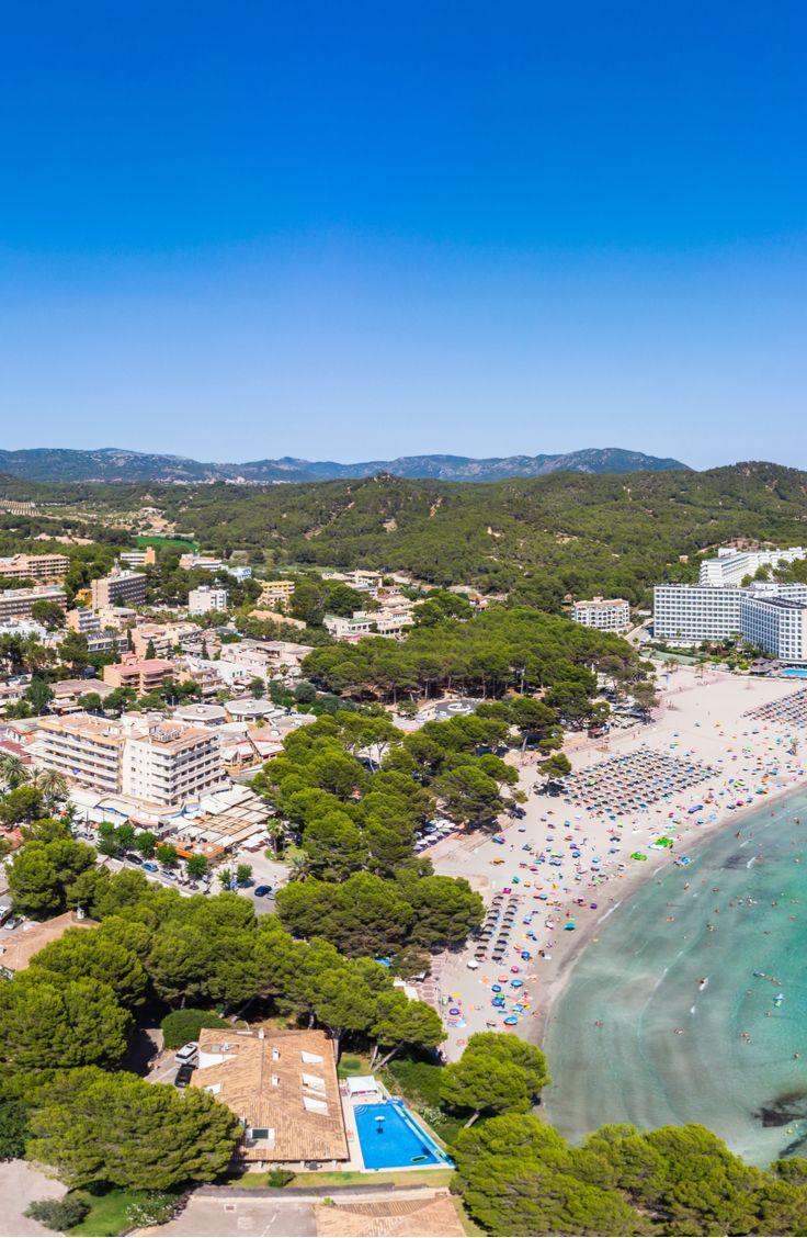 Peguera Einer Der Alteren Touristenorte Auf Mallorca Mallorca