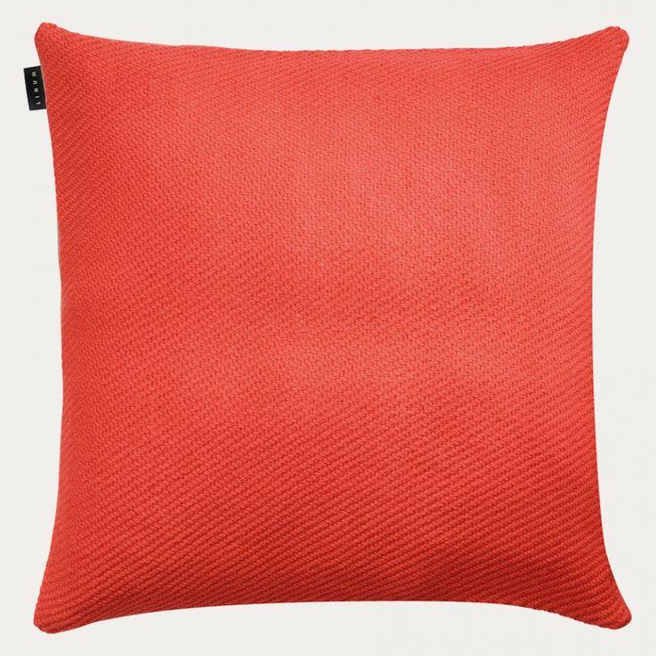 Hudson Cushion - Sienna Röd   Höst   Kuddfodral   Vardagsrum   Linum