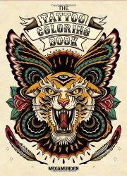 Tattoo Coloring Book __ bohemianizm Holiday Gift Guide 2015: 75 Awesome Art-Related Present Ideas   bohemianizm