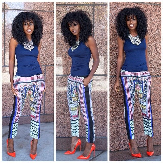 {Grow Lust Worthy Hair FASTER Naturally}        ========================== Go To:   www.HairTriggerr.com ==========================            Love the Whole Look Especially the Tribal Print Pants!!!