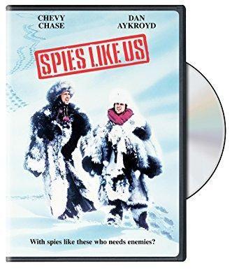 Spies Like Us Chevy Chase, Dan Aykroyd, Donna Dixon, Steve Forrest, Bruce Davison, William Prince, Bernie Casey