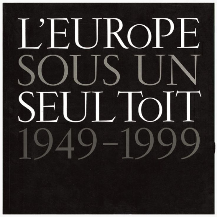 "Read more: https://www.luerzersarchive.com/en/magazine/print-detail/council-of-europe-15445.html Council of Europe ""Council of Europe´s"" anniversary brochure cover. Tags: Marnich Associates, Barcelona,Wladimir Marnich,Magnum Photos, New York,Council of Europe"