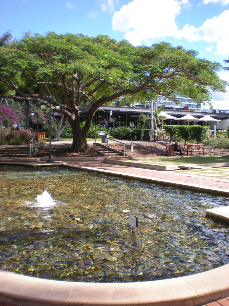 South Bank in Brisbane, Australia