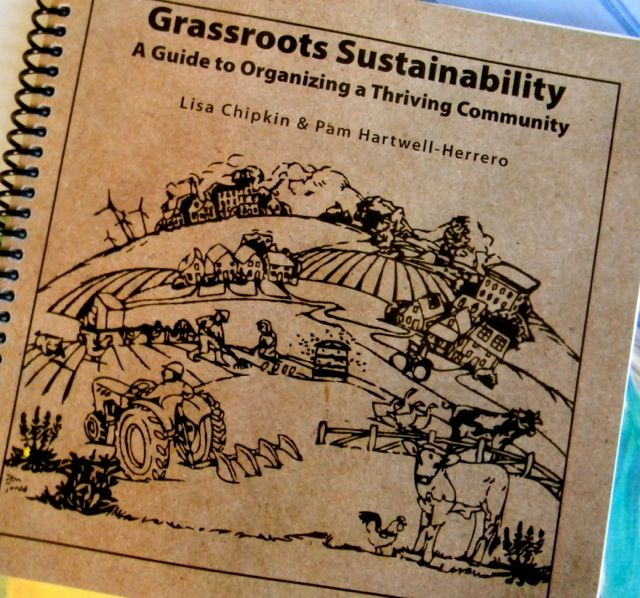 Grassroots Sustainability: A Guide to Organizing a Thriving Community. We made Huffington Post and Google Sustainability news!