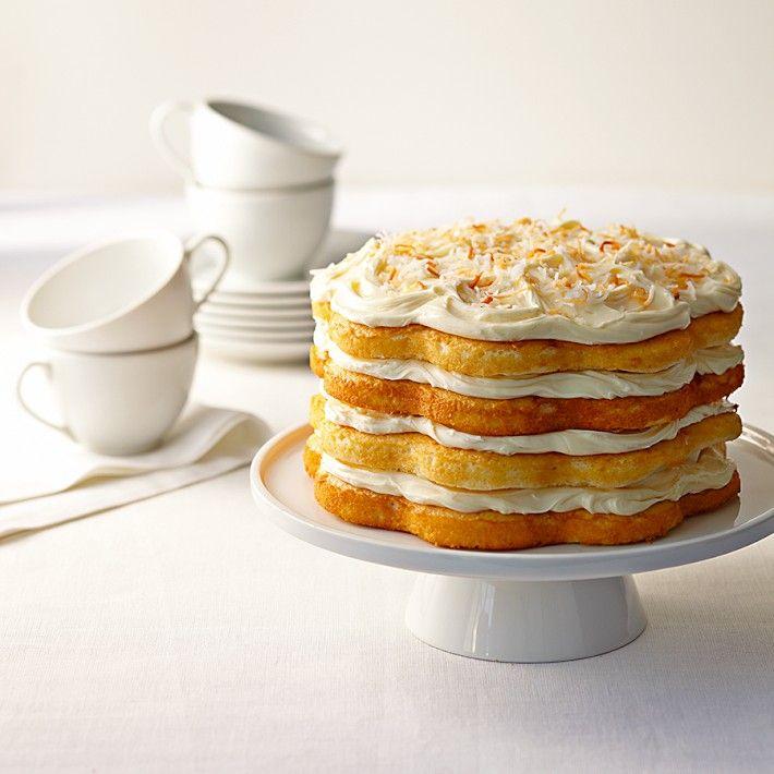 Deliziosa torta con ripieno al #cocco