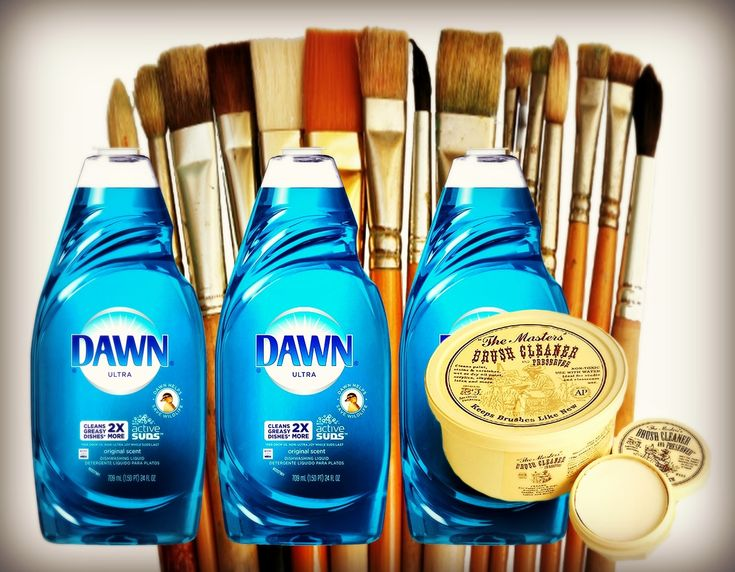 'Keep it Clean! How to Extend the Life of Your Brushes...!' (via Professional Artist Magazine)