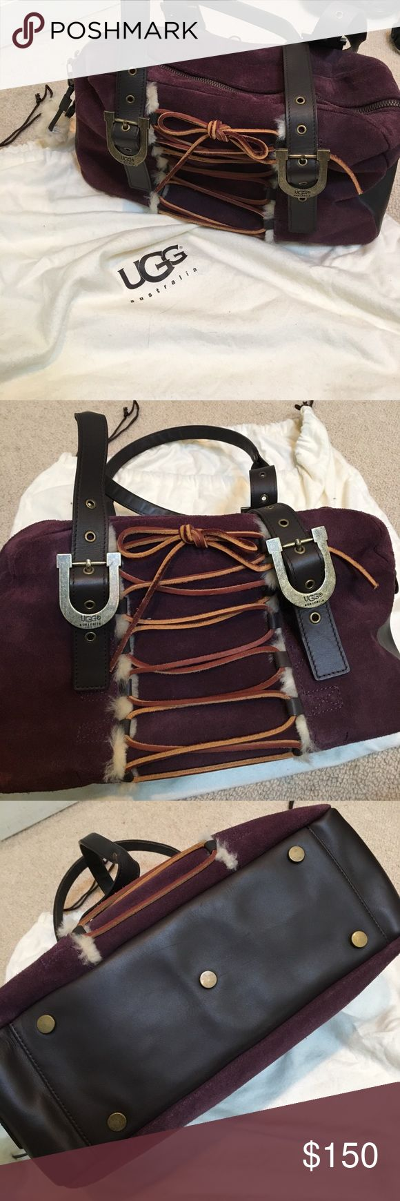 Beautiful UGG Australia Purse Amazing ugg Australia Purse. Used once and in perfect condition. Will not part unless for the right price. Will come in dust bag. 100% authentic, purchased by me at the San Francisco UGG store. UGG Bags