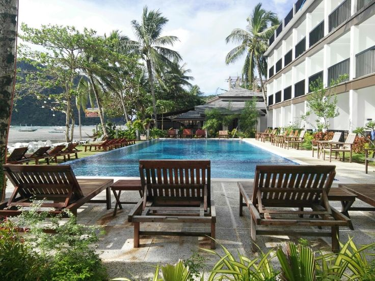 Our hotel in El Nido. - Still Palawan but its a 5-6 hours drive .. It has the best beaches and island hopping here is far much better than in Puerto Princesa