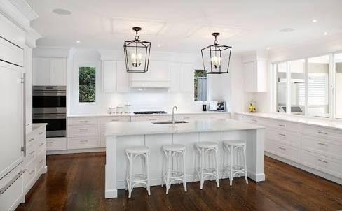 Image result for hamptons kitchen
