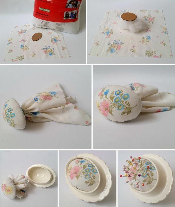 porselen iğnelik nasıl yapılır