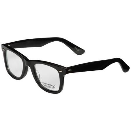 Pomy Mens Prescription Glasses, 122 Black - Walmart.com