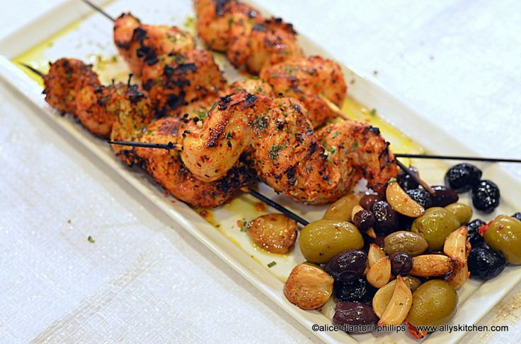 ~kasbah chicken skewers~  Oh you have to taste the goodness!
