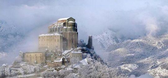 Sacra di San Michele  X-XI century, Piedmont (northwestern Italy)