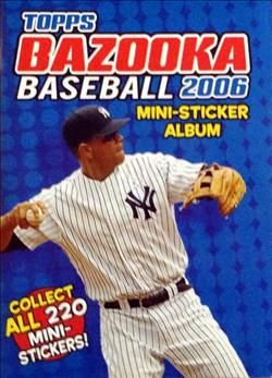 2006 Bazooka 4 in 1 Mini Stickers