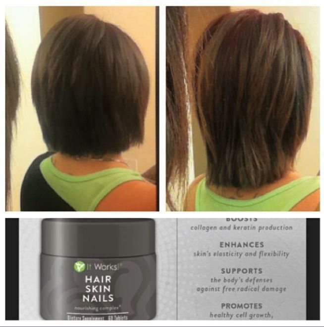 Unique It Works Hair Skin And Nails Results Mold - Nail Paint Design ...