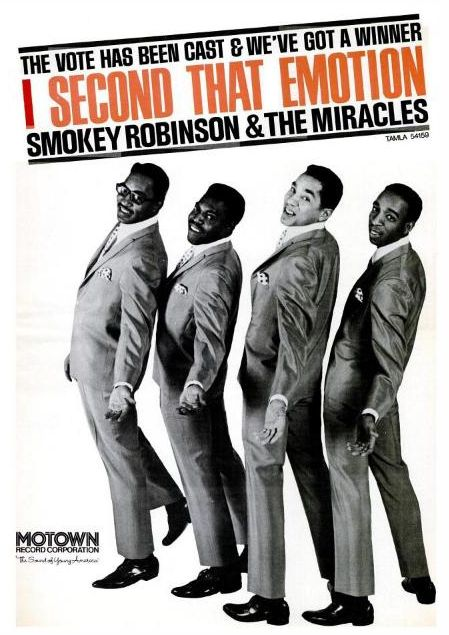 Smokey Robinson & The Miracles.