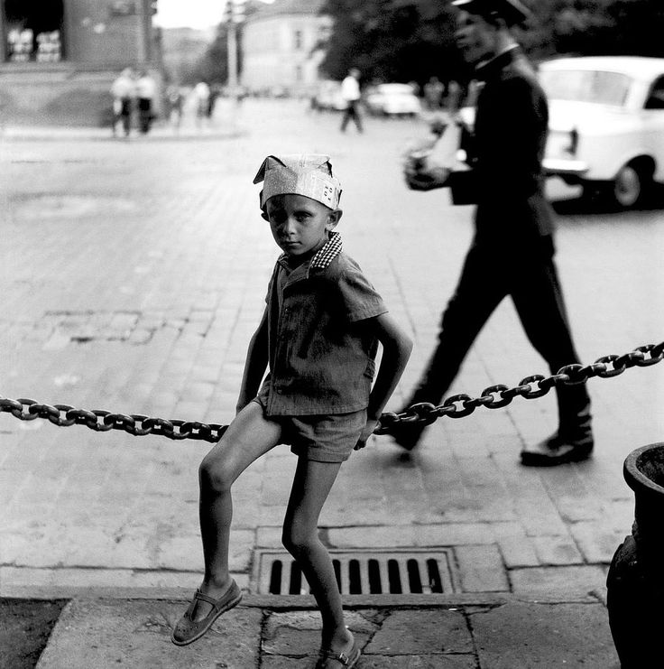 Soviet occupied Lithuania in about 1970. Photograph by Antanas Sutkus.