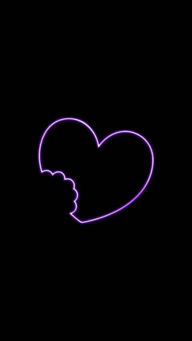 Breathoflavender May 09 2020 At 06 31pm Broken Heart Wallpaper Purple Vibe Heart Wallpaper Broken heart wallpaper for iphone