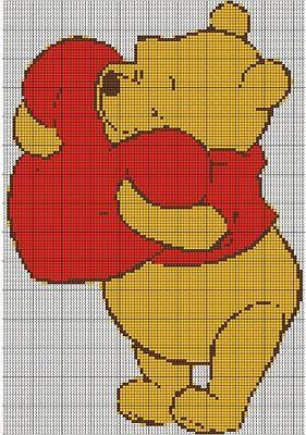 Image result for classic winnie the pooh cross stitch patterns