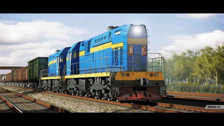 3DFAB. Modeling & render train TEM7