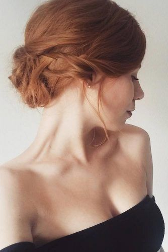 24 Pretty Short Hair Updos You Ll Want To Wear The Next Party