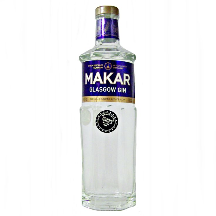 Makar Glasgow Gin Scottish Gin from the Glasgow Distillery available to buy online at specialist gin and whisky shop whiskys.co.uk Stamford Bridge York