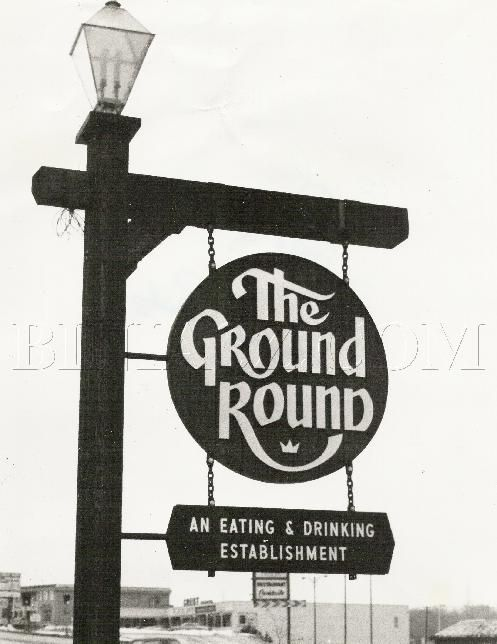 The Ground Round - Watch out for the popcorn and peanuts on the floor!