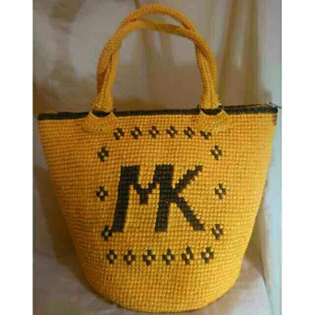 michael kors inspired twine crochet bag