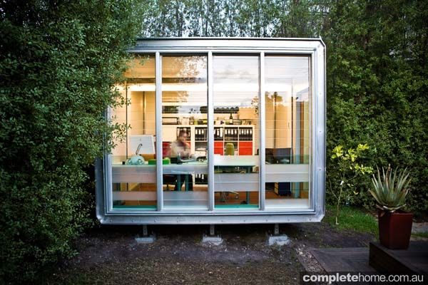 Transportable space by Pluscreate (Aussie prefab company)