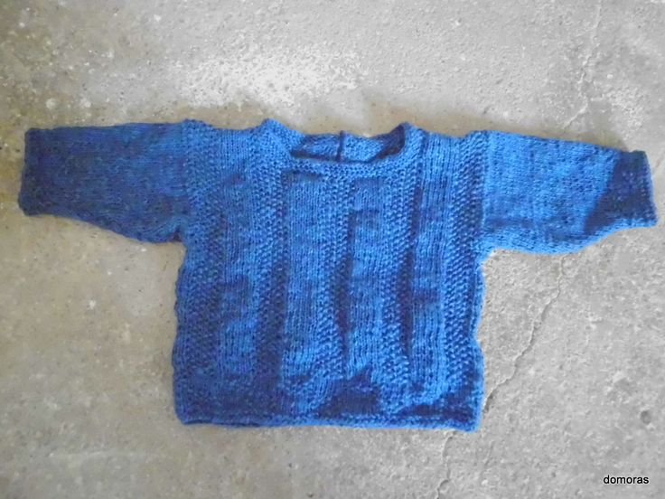 MICHELE, knitting pattern for a baby jumper from domoras
