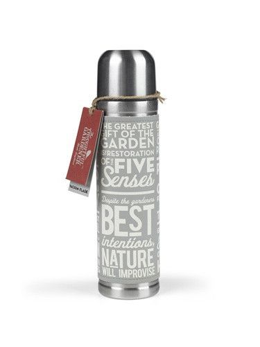 Thoughtful Gardener Thermos design by Wild & Wolf