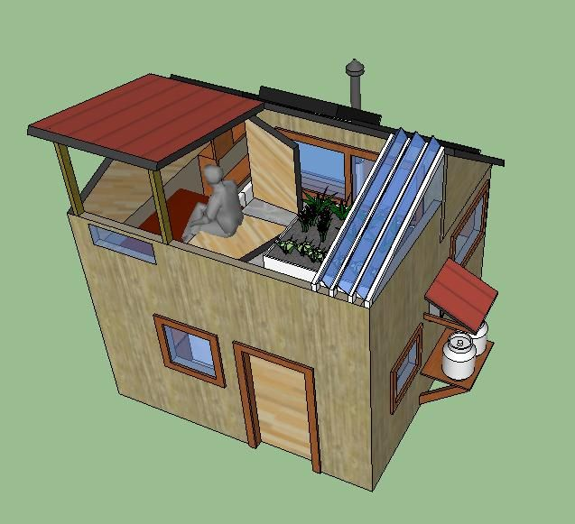 1076 best images about tiny house on pinterest guest for Small solar house plans