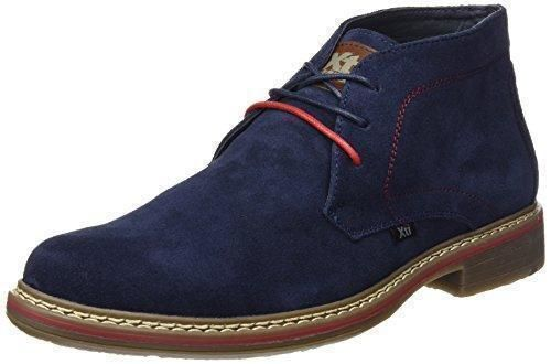 Oferta: 55€. Comprar Ofertas de XTI Botin Cro. Serraje, Zapatos de Cordones Derby Para Hombre, Azul (Navy), 43 EU barato. ¡Mira las ofertas!