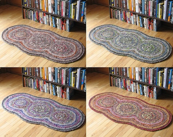 #crochet rug - would be super easy to duplicate