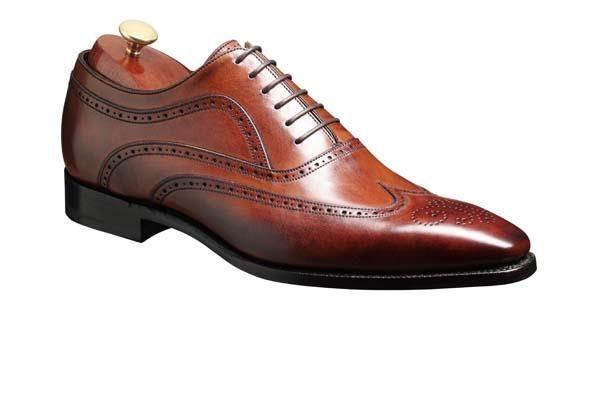 Barker Vivaldi Mens Oxford leather brogue shoe http://www.robinsonsshoes.com/barker-vivaldi.html