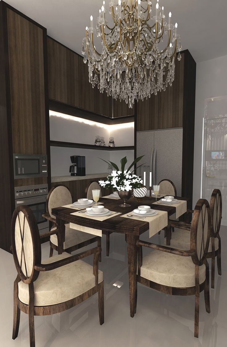 small space dining room and pantry