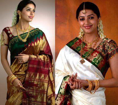 kanchipuram bridal sarees - Google Search