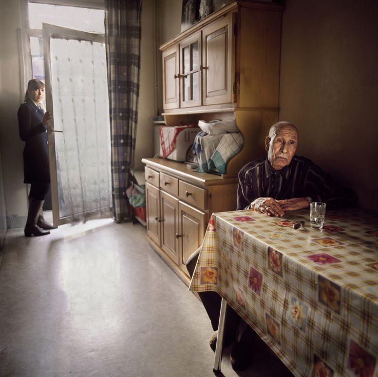 "Mhamed & Amina (France) ""Silent dialogues"" by Viktoria Sorochinski"