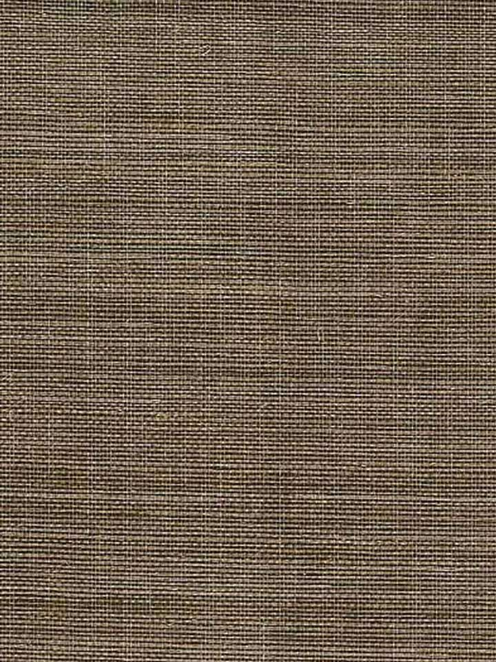 Breathe life and texture into your walls with this delicate grasscloth wallpaper. With distressed details, it will transport your home into another world. In a neutral brown color, this pattern from Yangtze Landing will add a subtle, exotic ambience to your home. | AmericanBlinds.com