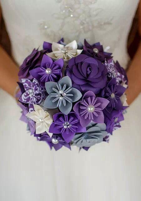 My paper bouquet.