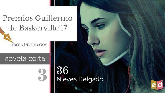 Reseña: «36», Nieves Delgado | Premios Guillermo de Baskerville'17  - Esquinas Dobladas