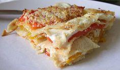 Con questo squisito pane sardo si prepara una ricetta semplice, veloce e gustosissima! Teglia di pane carasau e peperoni