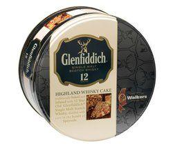 Image of Tin Glenfiddich Highland Whisky Cake