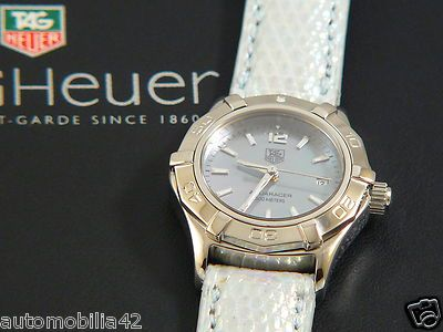 TAG Heuer Aquaracer Ladies watch M.O.P. Blue dial with ...