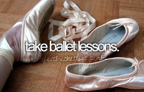 #33: Take ballet (for beginner adults, obvz)