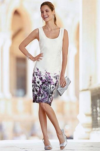 Dresses - Together Dress - Border Print
