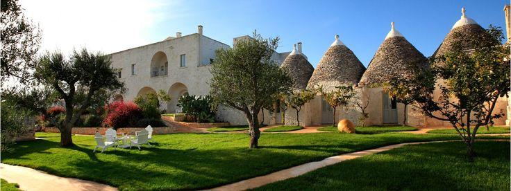 Best Budget Boutique hotel. -Masseria Cervarolo hotel – Puglia – Italy